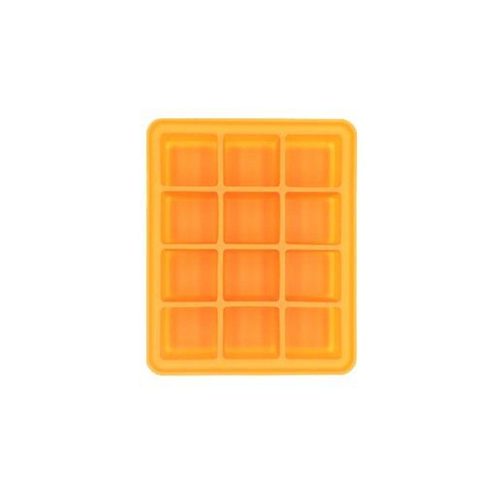 韓國 Pomier 朴蜜兒 - BabyJoy 100% 鉑金矽膠副食品保存盒-12格-1入裝