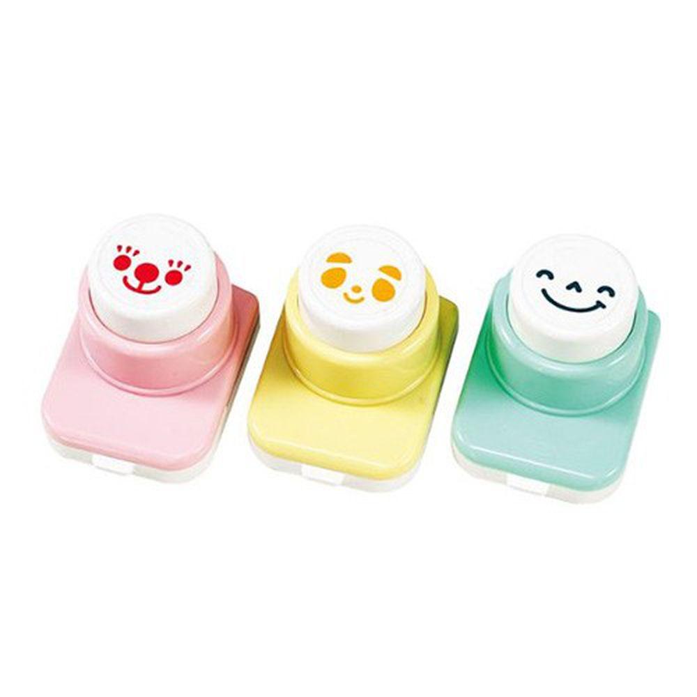 日本 Arnest - 日本製笑臉款海苔打洞器三入組