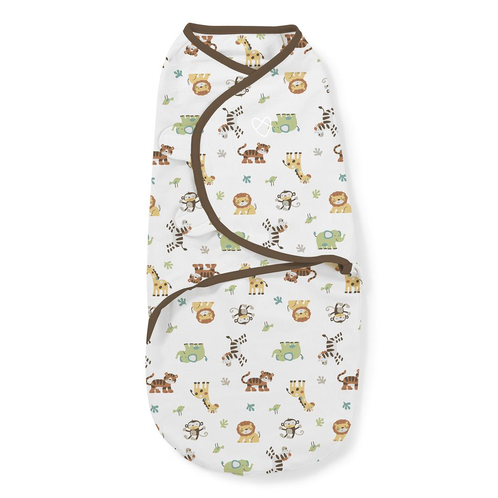 Summer Infant - 聰明懶人育兒包巾-動物園 (加大)-適用年齡:4~6個月