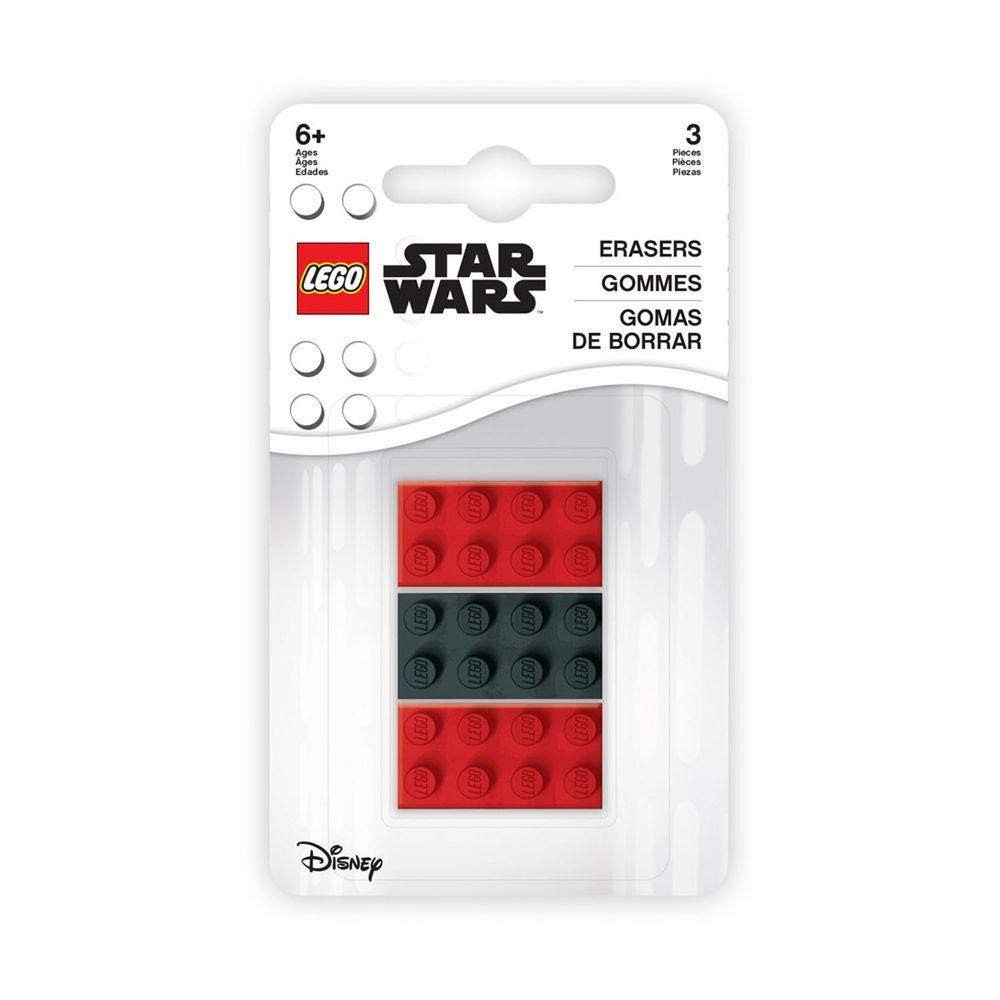 樂高 LEGO - LEGO星際大戰橡皮擦組-3.2×1.6×1.2公分