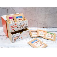 【滿額禮】軟綿羊雙抽盒 & 傳奇濾掛咖啡6包 X 1