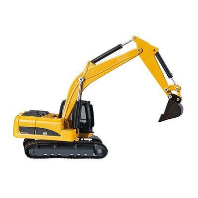 工程車-挖土機(黃)-關節可動