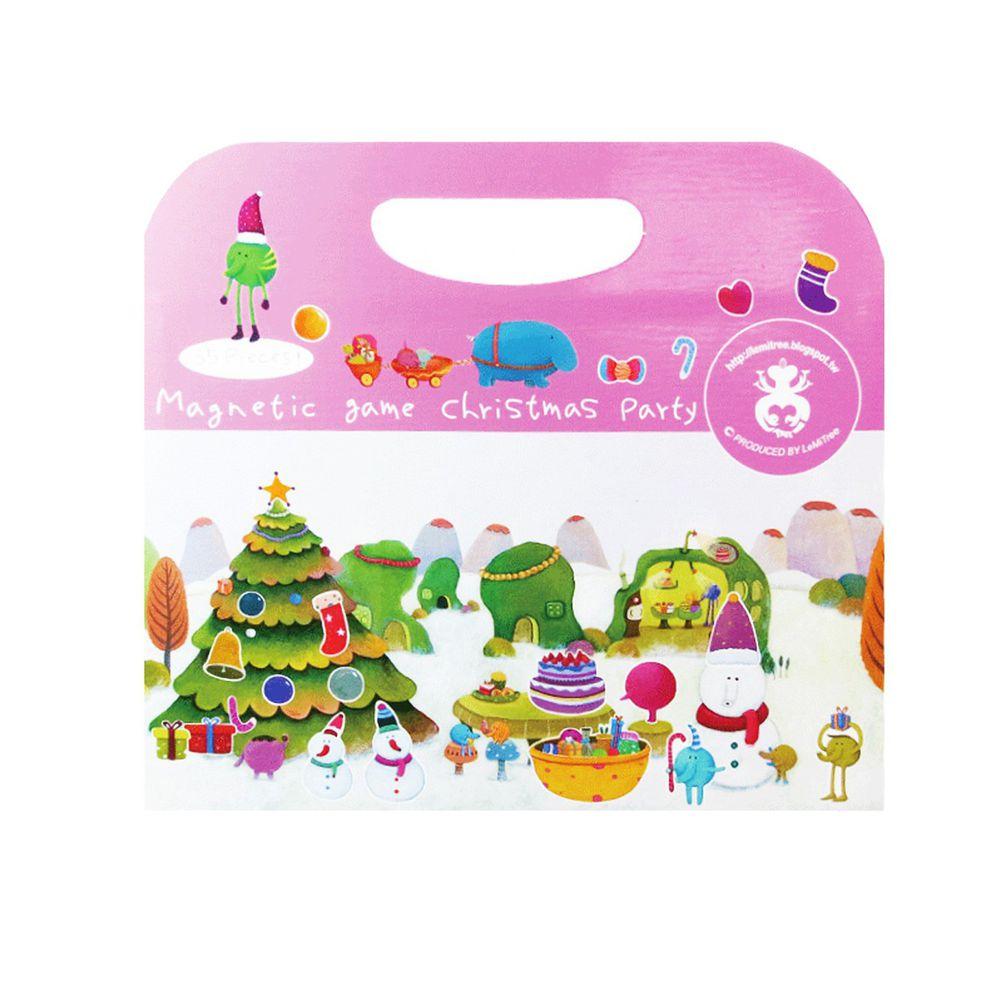Babytiger - 手提包磁鐵書-聖誕派對