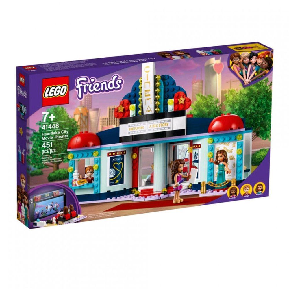 樂高 LEGO - 樂高積木 LEGO《 LT41448 》Friends 姊妹淘系列 - 心湖城電影院-451pcs