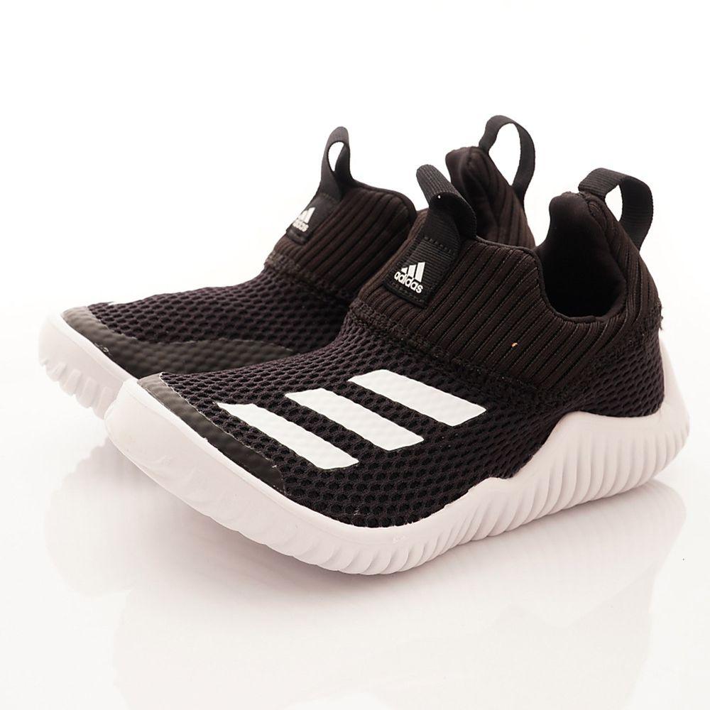 adidas - 機能童鞋-經典襪套運動款(中小童段)-黑