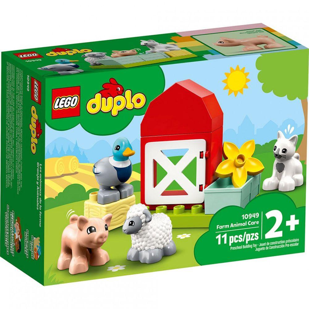 樂高 LEGO - 樂高積木 LEGO《 LT10949 》Duplo 得寶系列 - 農場動物照護中心-11pcs