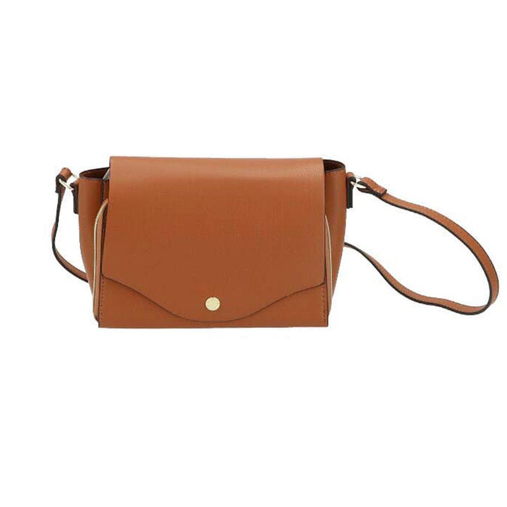 日本 Legato Largo - 輕量PU時尚皮革錢夾包-CA駝色 (23x14x8.5cm 肩背約95~129cm)