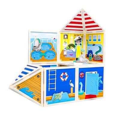 百變娃娃屋-海上救援中心-69pcs