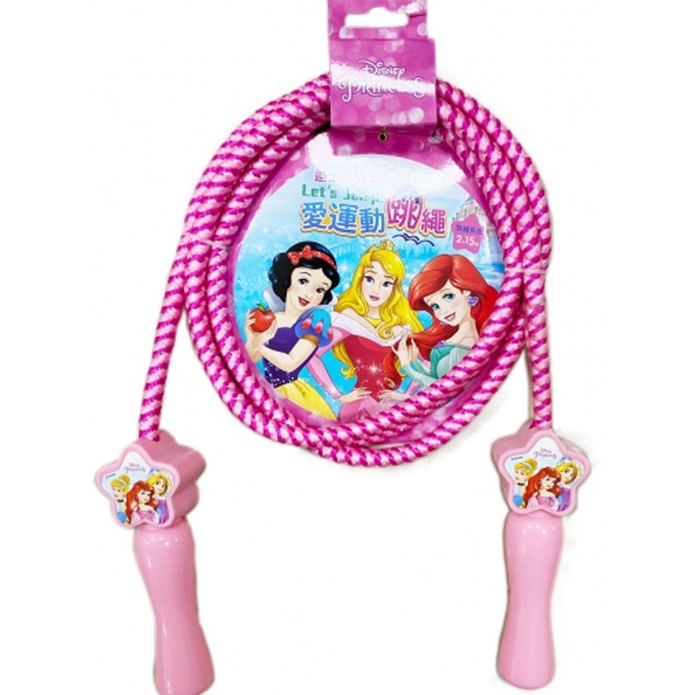 愛運動跳繩-迪士尼公主