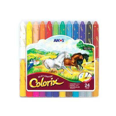 24色粗款神奇水蠟筆