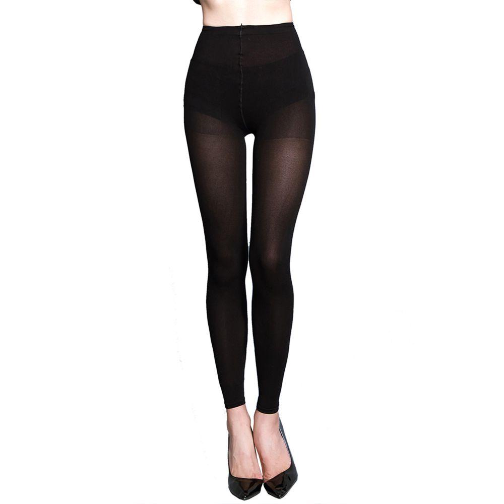 GIAT - 零肌著遠紅外線隱形美體發熱褲-黑色
