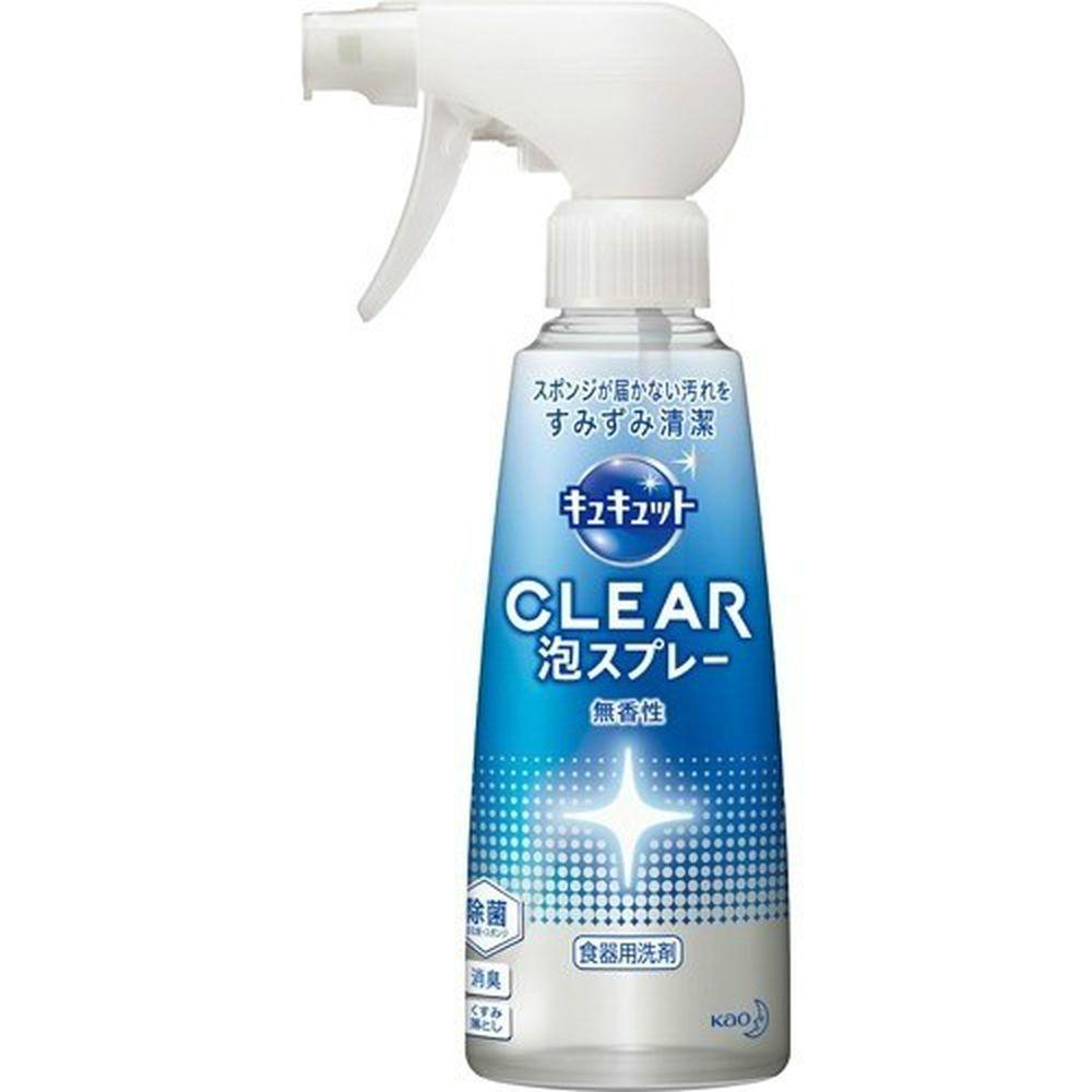 日本花王 - CLEAR噴槍型泡沫洗碗精-無香-300ml