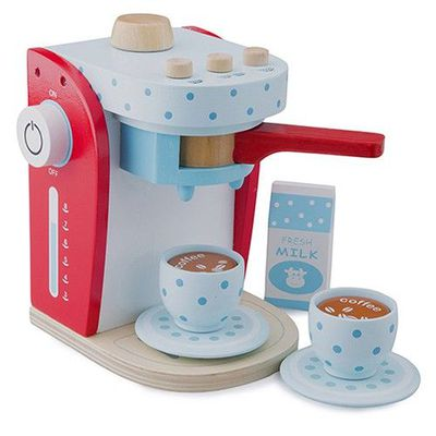 木製家家酒咖啡機