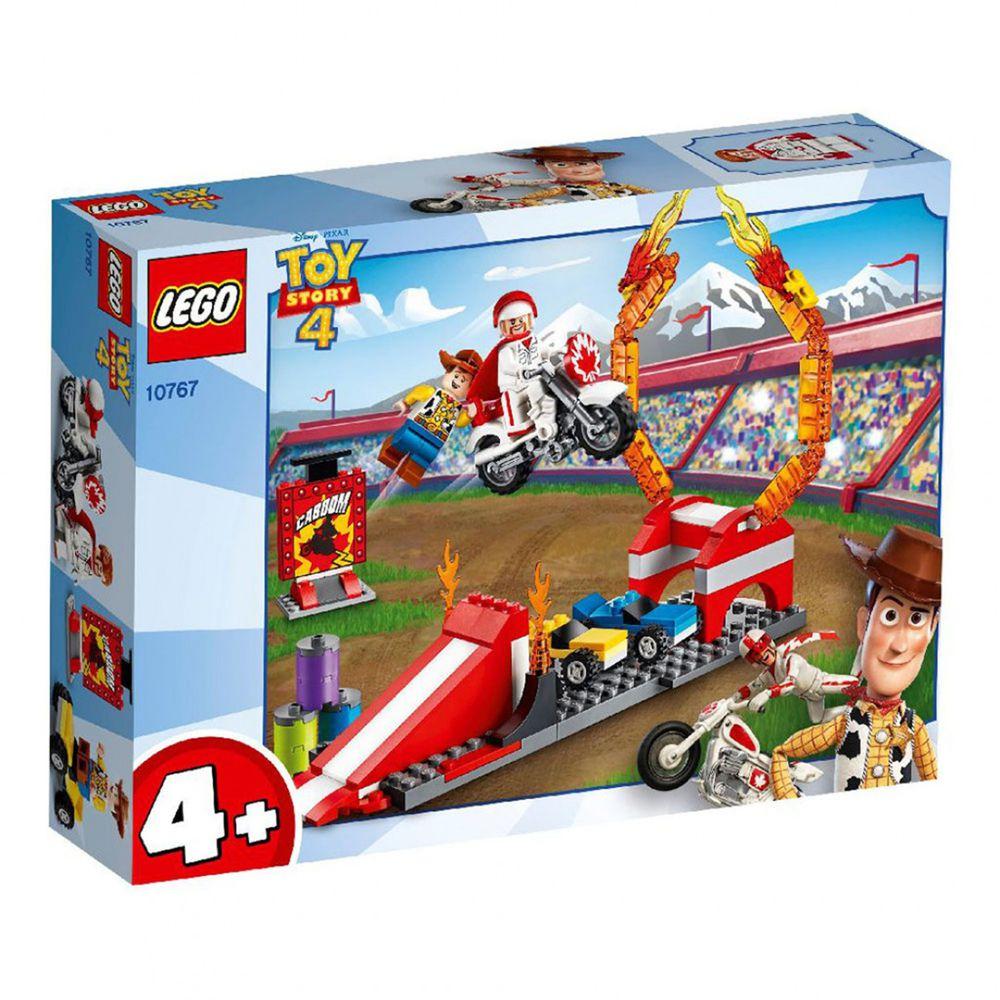 樂高 LEGO - 樂高 Junior 初學級系列 - 玩具總動員4 Duke Caboom's Stunt Show 10767-120pcs