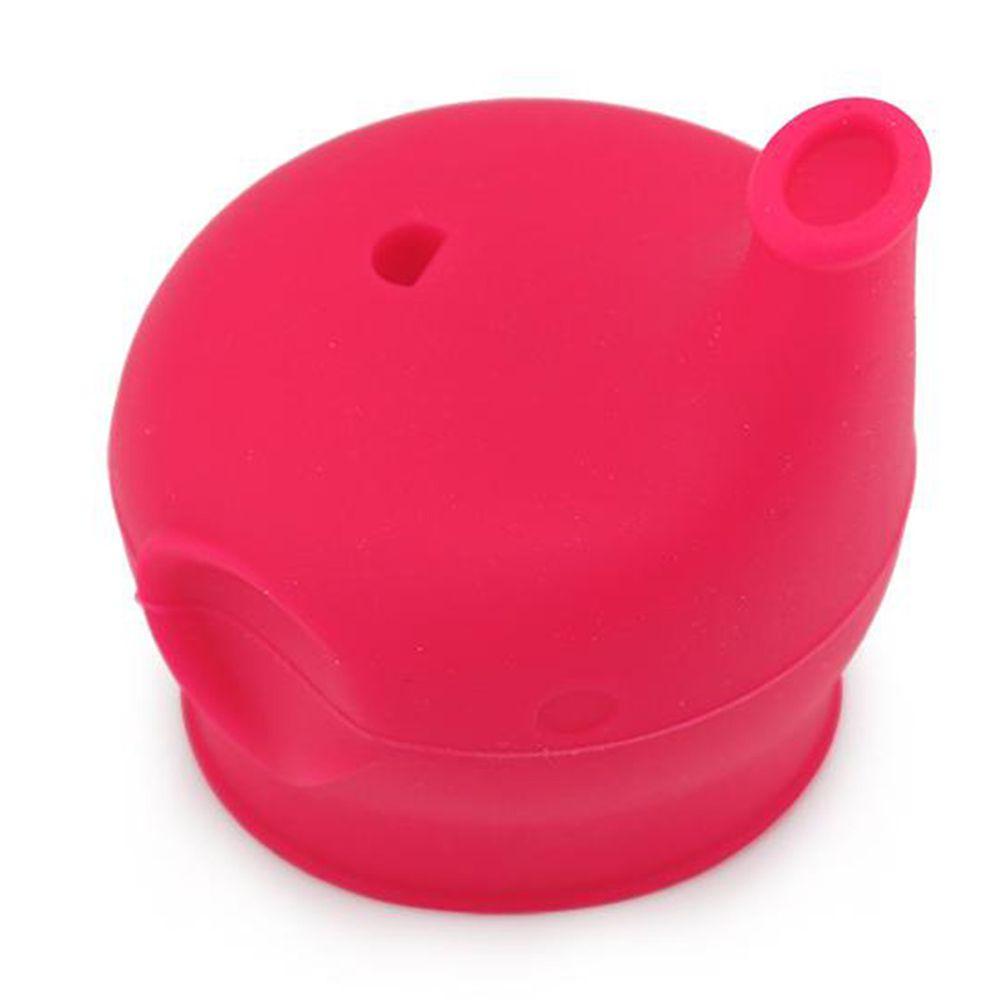 紐西蘭 HaaKaa - 大象防溢漏鴨嘴杯套-紅色