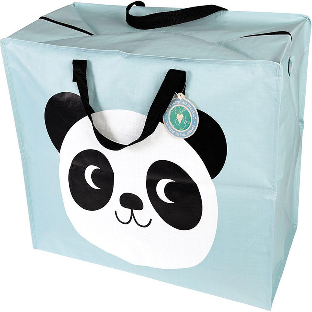 英國 Rex London - 衣物/棉被超大多功能防水收納袋/萬用袋-可愛熊貓
