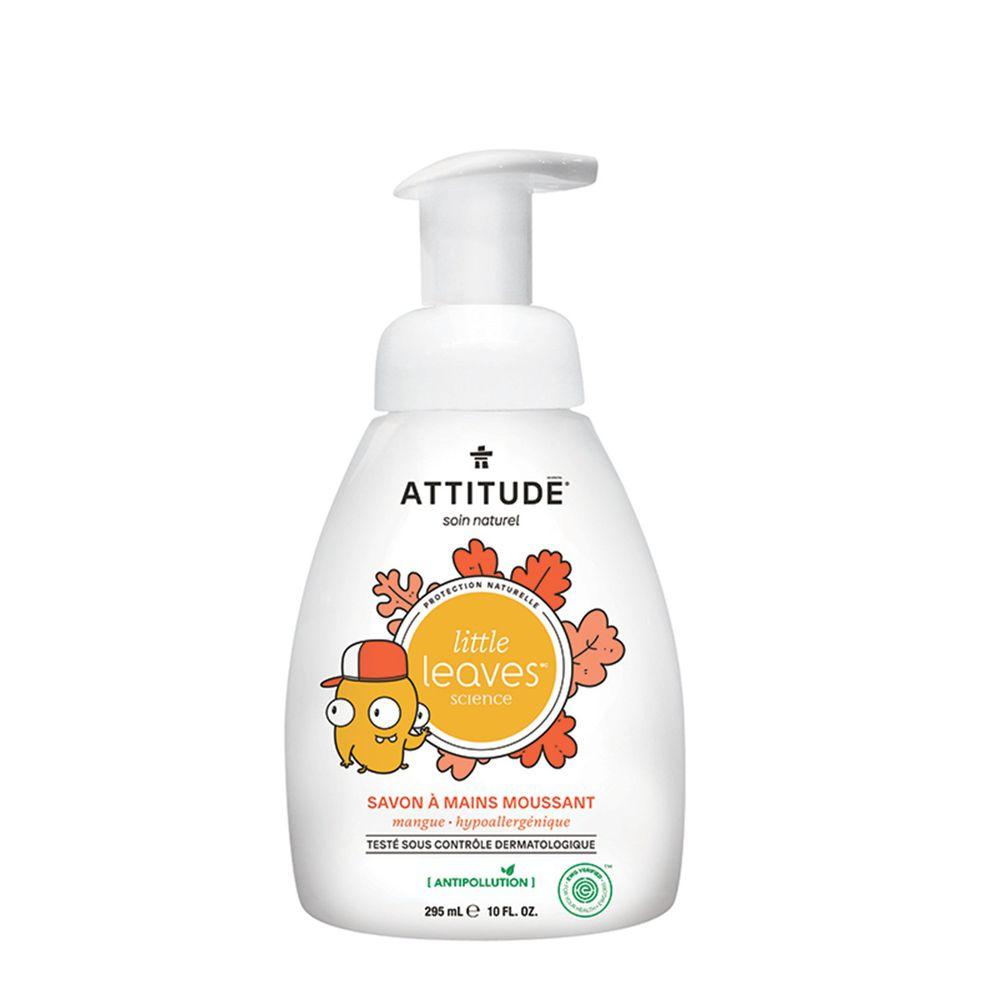加拿大 ATTITUDE 艾特優 - 兒童泡沫洗手乳-芒果-295ml