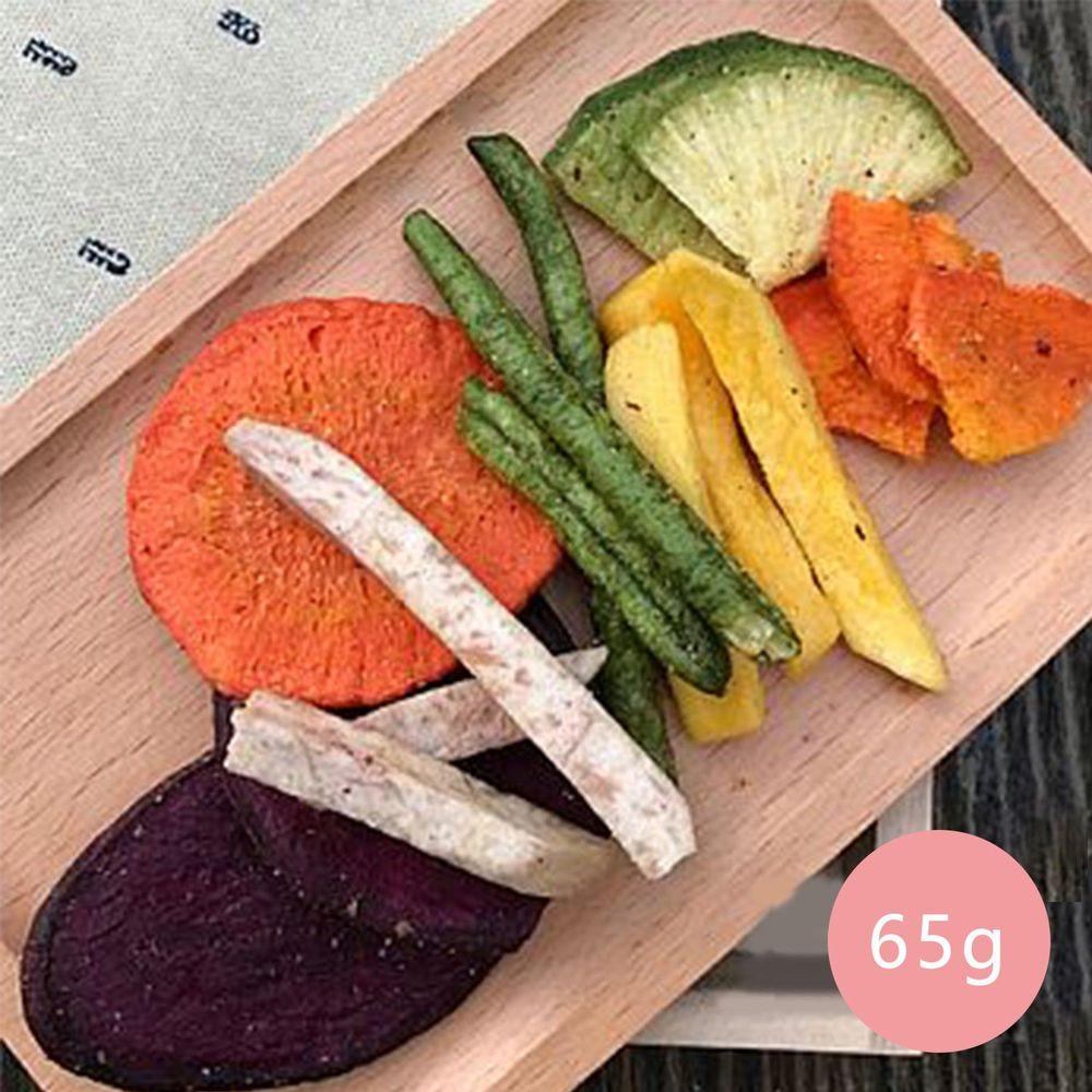 好日好食 - 頂級蔬菜脆片們-單入-65g