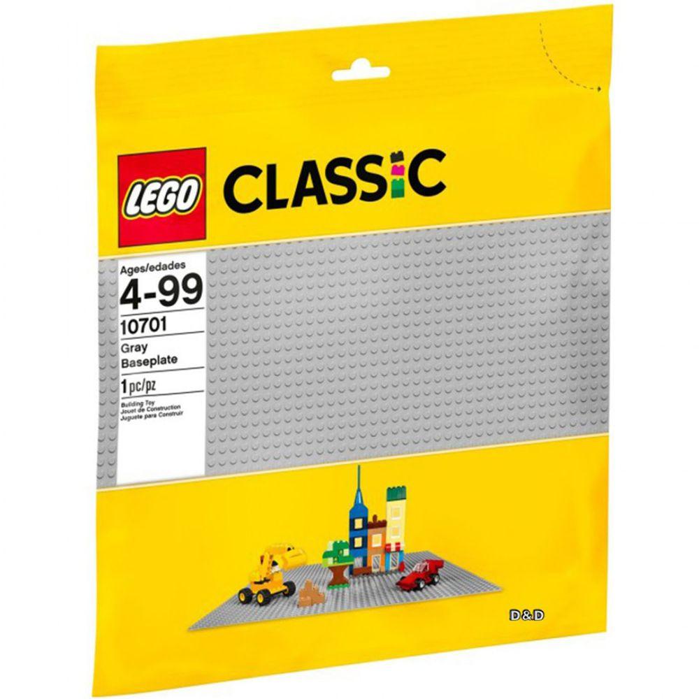樂高 LEGO - 樂高 Classic 經典基本顆粒系列 - 灰色大底板 10701-1pcs