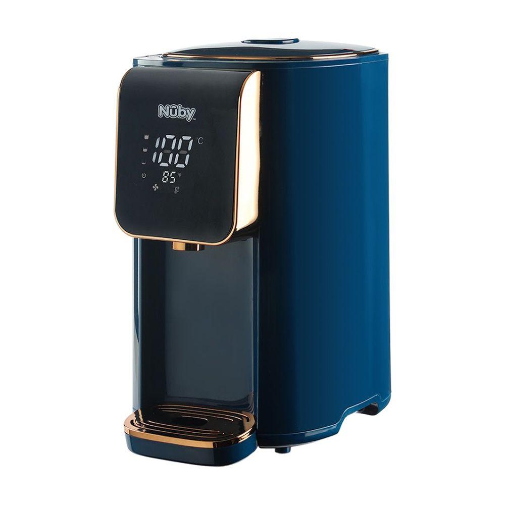 Nuby - 智能七段定溫調乳器-海軍藍