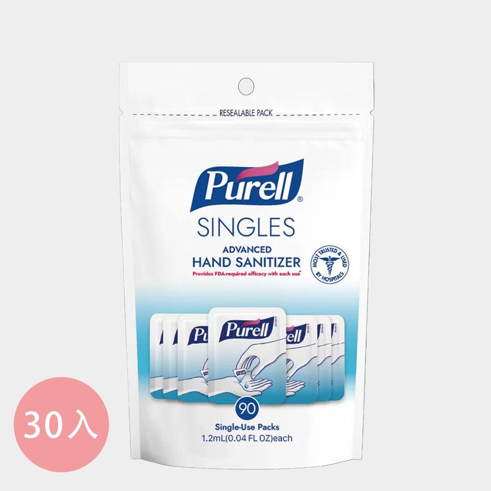 Purell ® 普瑞來 - 乾洗手凝露隨身包-1.2ml/包*30包入