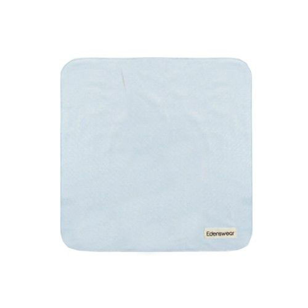 Edenswear 伊登詩 - 鋅健康抗敏系列-嬰兒口水巾-淺藍 (FREE)