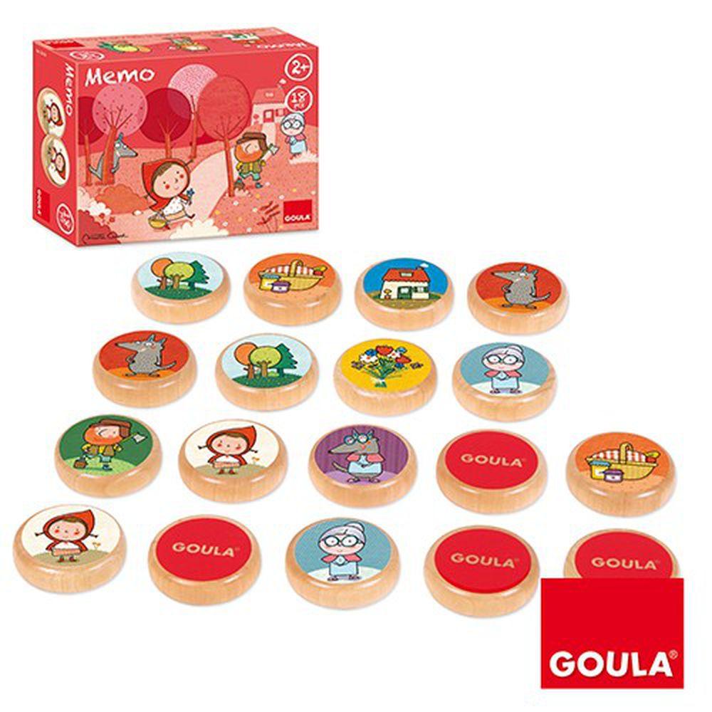 西班牙 GOULA - 小紅帽記憶配對組-2歲以上