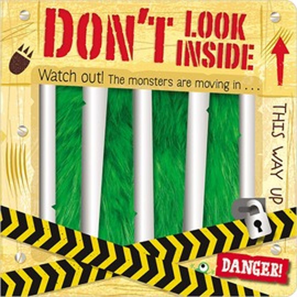 Don't Look Inside 千萬別打開(觸摸翻翻書)
