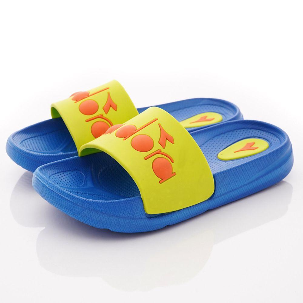 義大利 DIADORA - 輕量LOGO涼鞋/拖鞋(中小童段)-綠