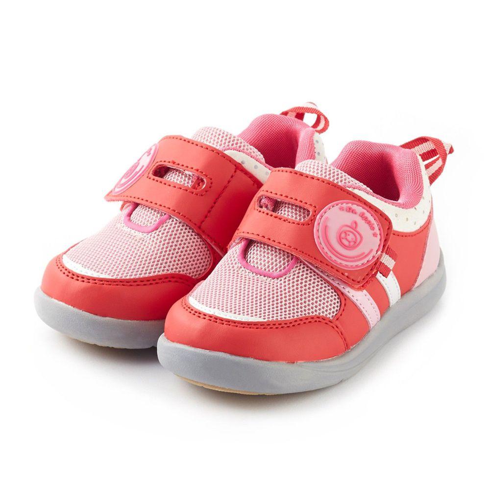 Dr. Apple - 機能童鞋-絕色酷玩經典剪裁-桃紅