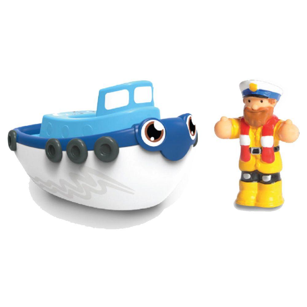 英國驚奇玩具 WOW Toys - 洗澡玩具 拖船 提姆