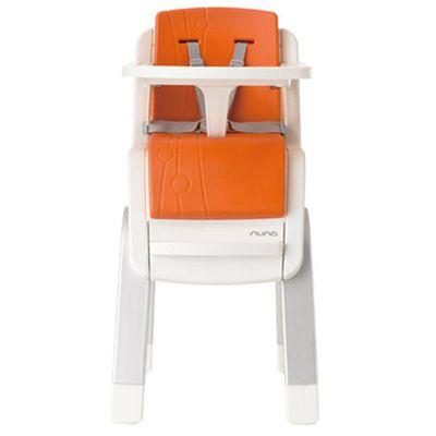 ZAAZ 高腳椅-橘-贈玩偶-隨機款
