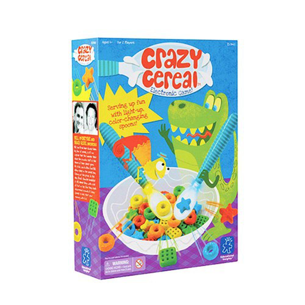 美國 Educational Insights - 親子互動桌遊-瘋狂穀片-3歲以上