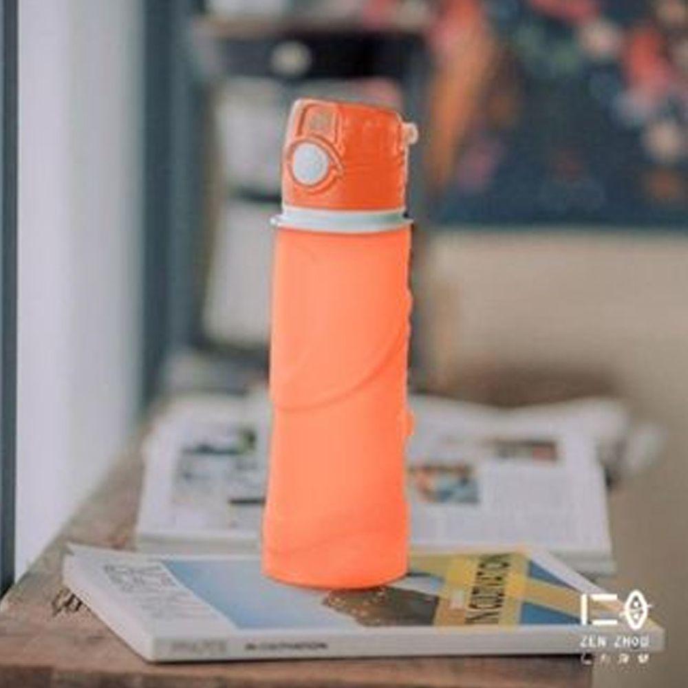 仁舟淨塑 - 捲捲矽水瓶-朝陽橘