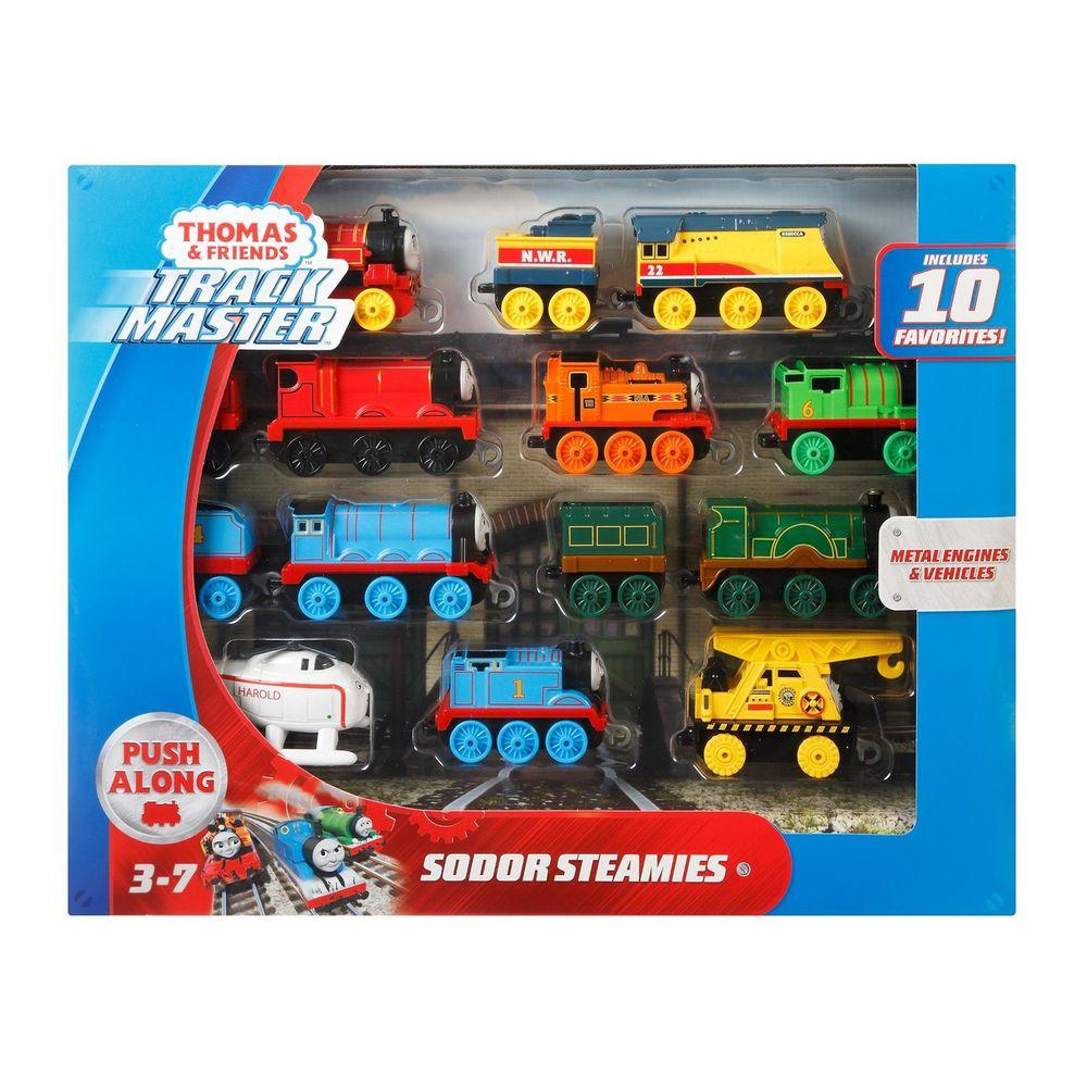 Thomas&Friends 湯瑪士小火車 - 湯瑪士小火車 - 最愛火車10入裝