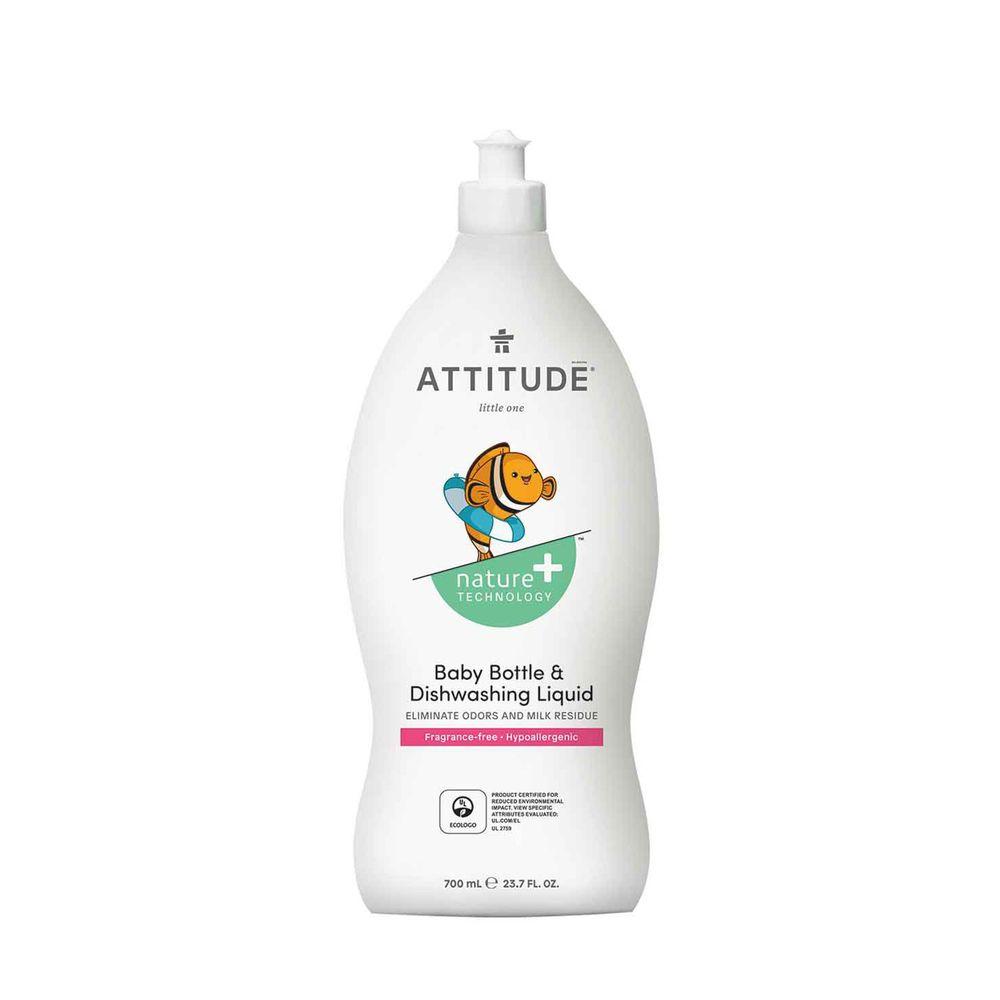 加拿大 ATTITUDE 艾特優 - 嬰幼兒餐具洗潔精-700ml