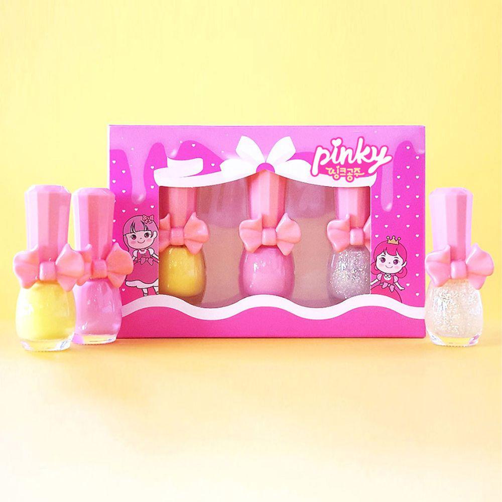 韓國 Pink Princess - 經濟小禮盒(指甲油*3)-Set C