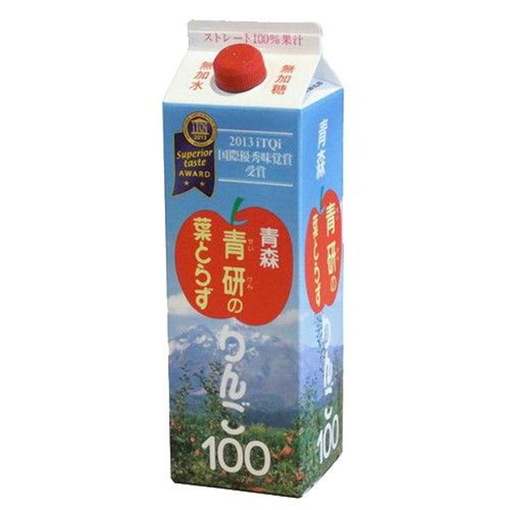 日本青森 - 蘋果汁-1000g(980ml)