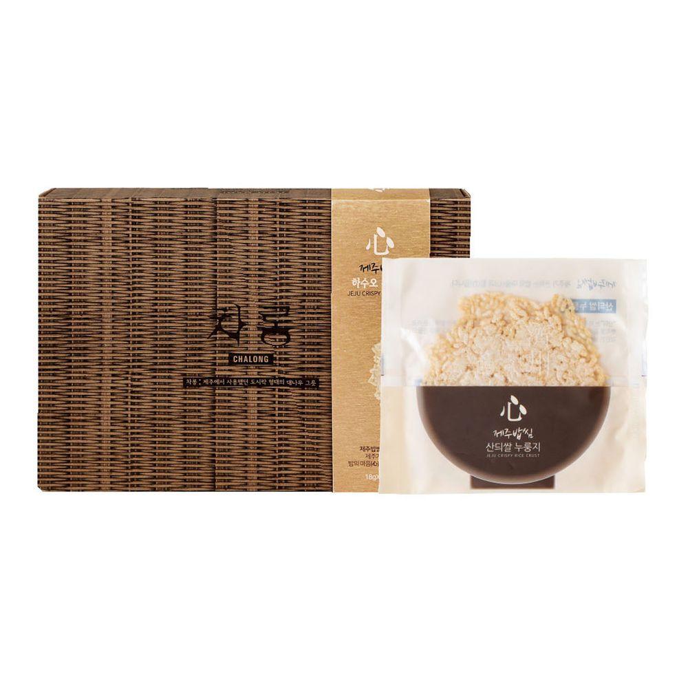 JejuMami 濟州媽咪 - 濟州之心鍋巴餅-旱稻禮盒 (10包/20片)