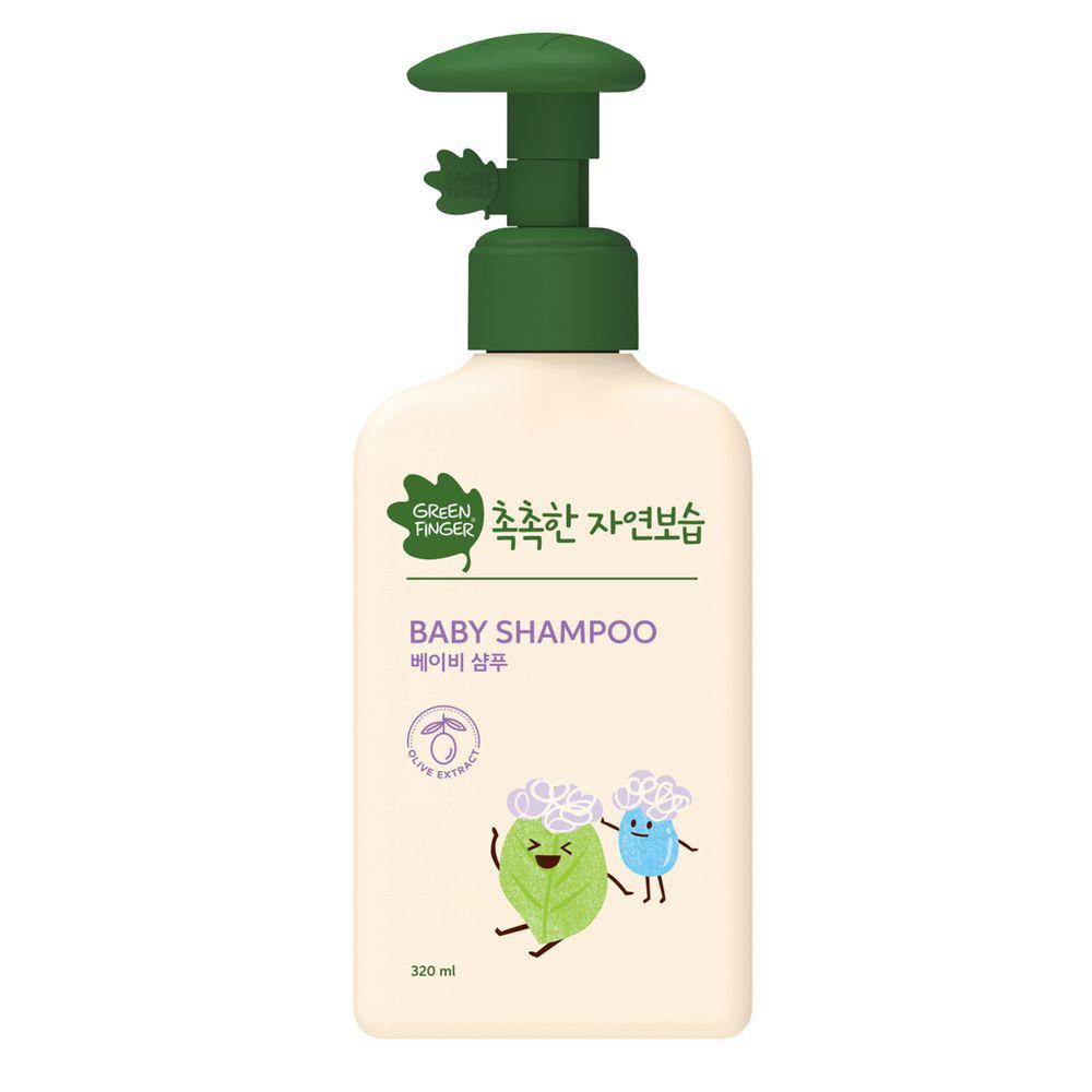 Green Finger - 綠手指 CHOKCHOK三效保濕嬰幼兒系列-洗髮乳-320ml