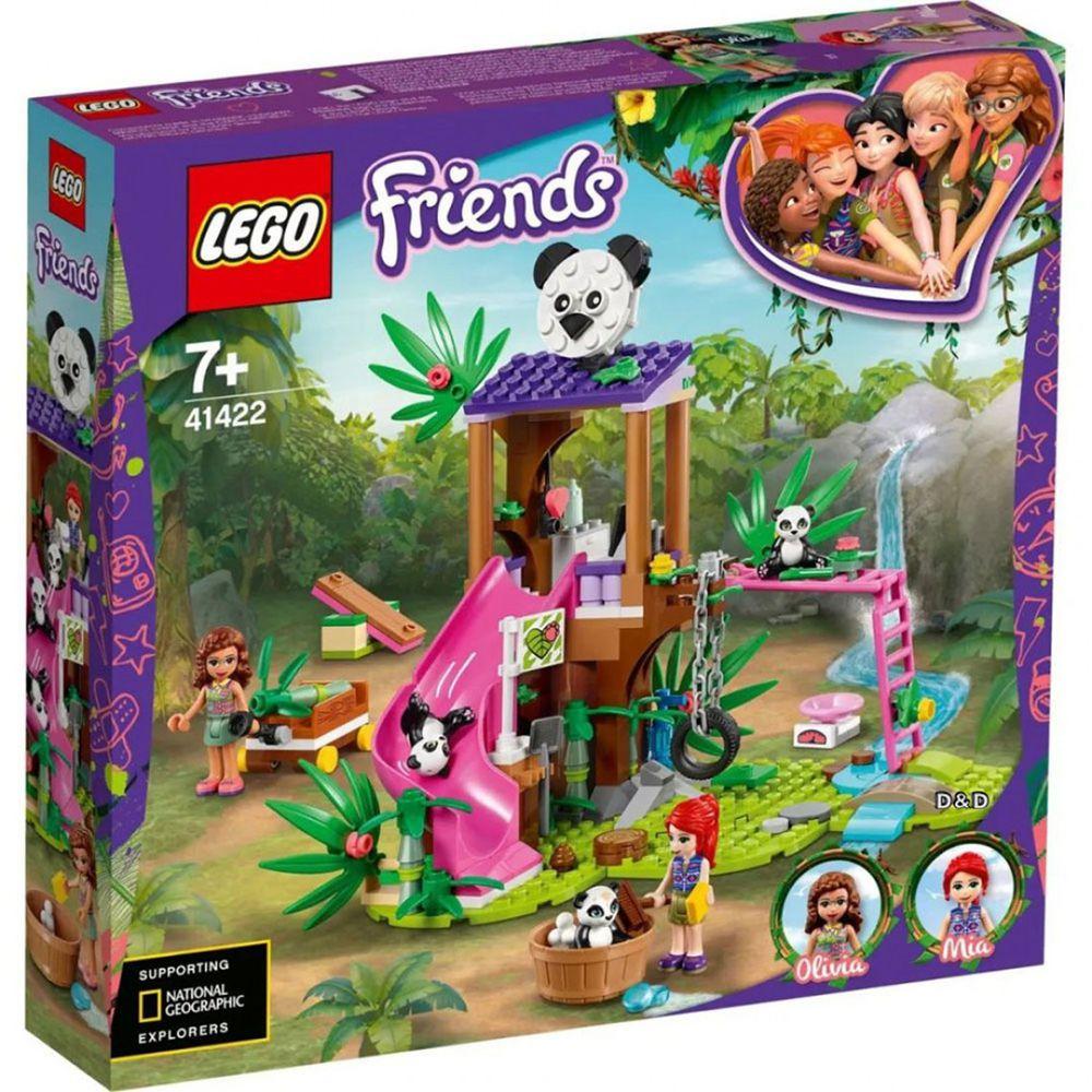 樂高 LEGO - 樂高積木 LEGO《 LT41422 》Friends 姊妹淘系列 - 熊貓叢林樹屋-265pcs