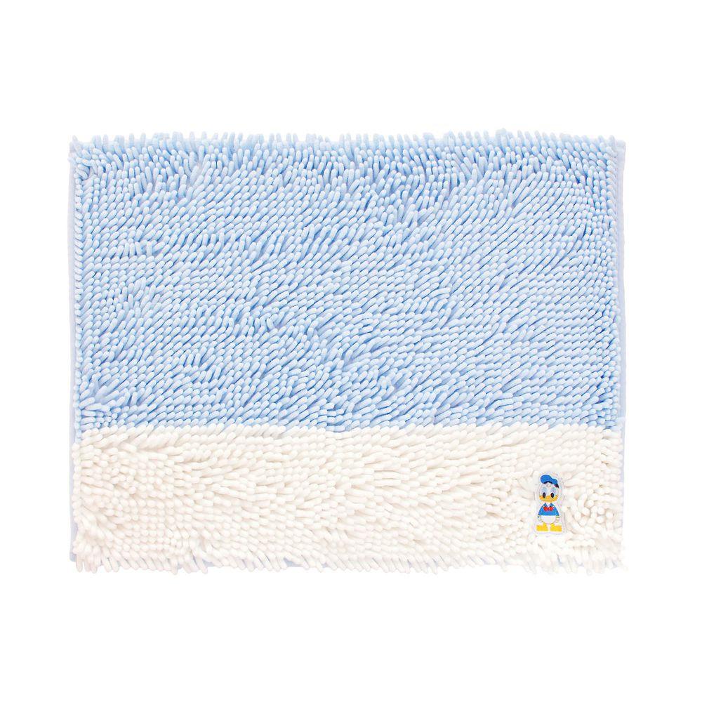 日本千趣會 - 迪士尼 吸水腳踏墊(撞色)-唐老鴨-藍白