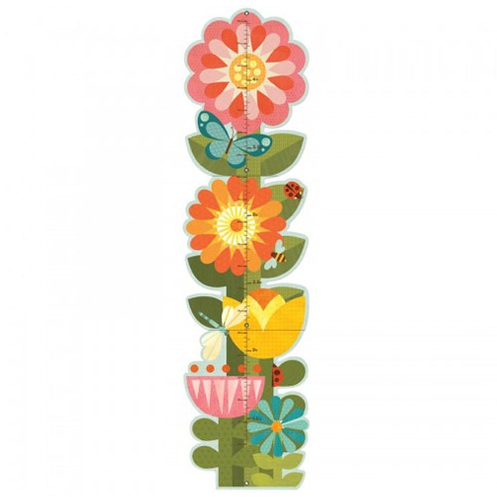 美國 Petit Collage - 成長尺-花花世界