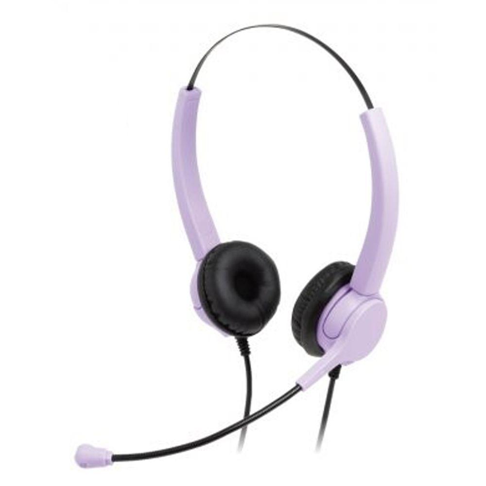 日本文具 SONIC - 超輕量護耳兒童耳機-紫
