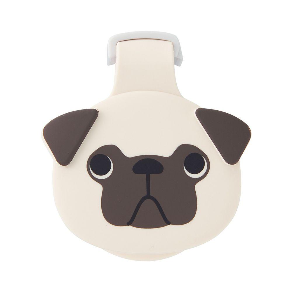 日本文具 LIHIT - 紙膠帶切割器(附磁鐵)-哈巴狗