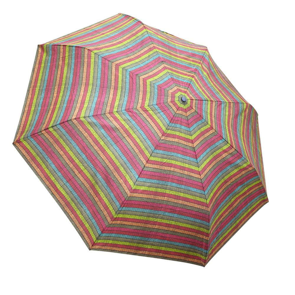 Rainstory - 抗UV雙人自動傘-彩繪條紋