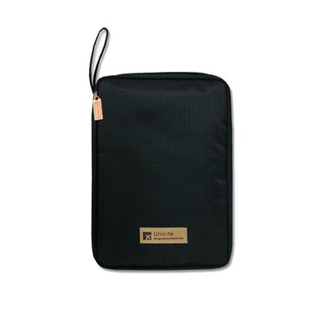 Unicite - A5/25K收納包/媽媽手冊收納包-黑