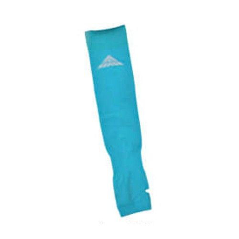 貝柔 Peilou - 高效涼感防蚊抗UV袖套-素面反光款-土耳其藍