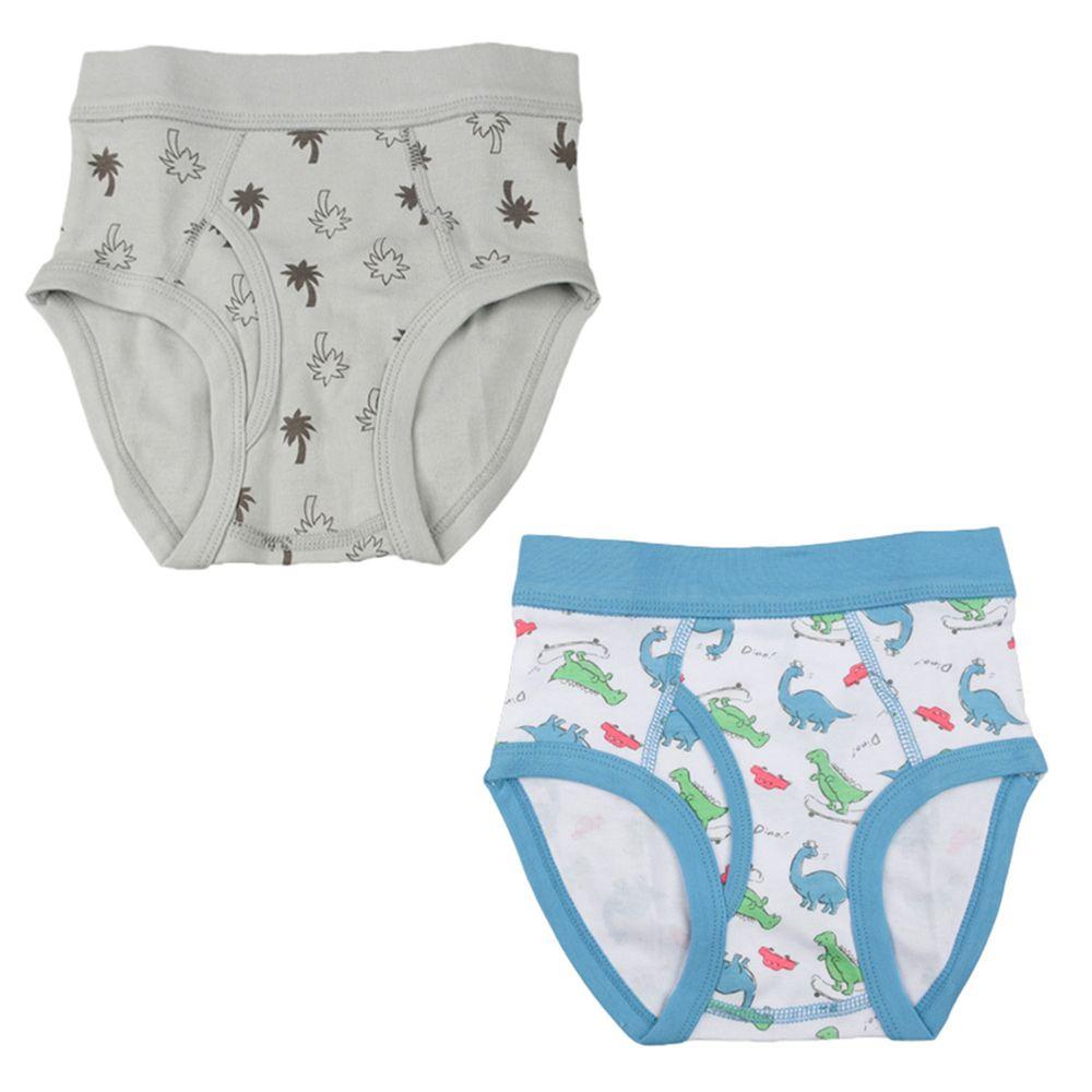 akachan honpo - 有機棉三角褲2件組-白色