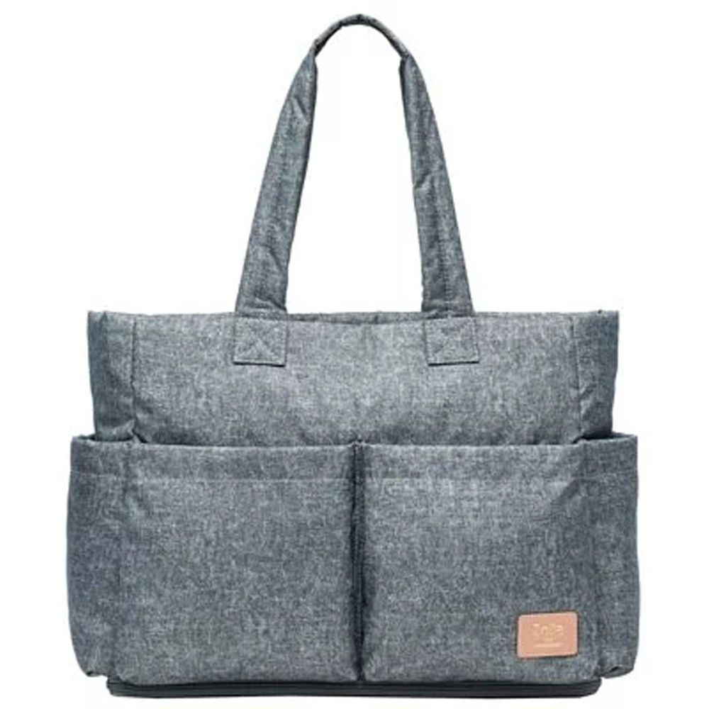 Zoila - 蓋亞托特包新版-灰藍丹寧-輕量美型媽媽包